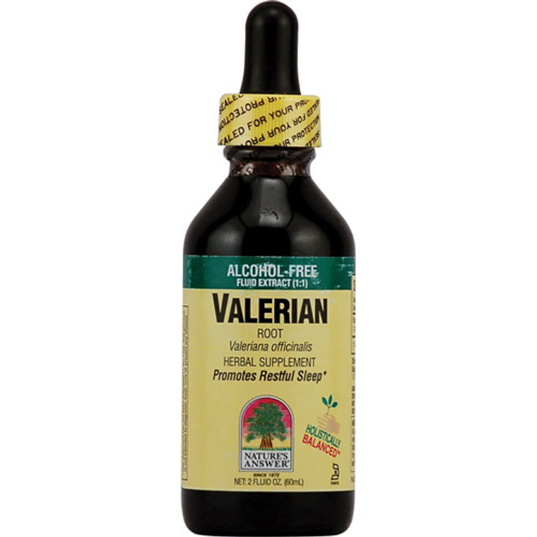 Natures Answer Valerian Root Alcohol Free - 2 Oz