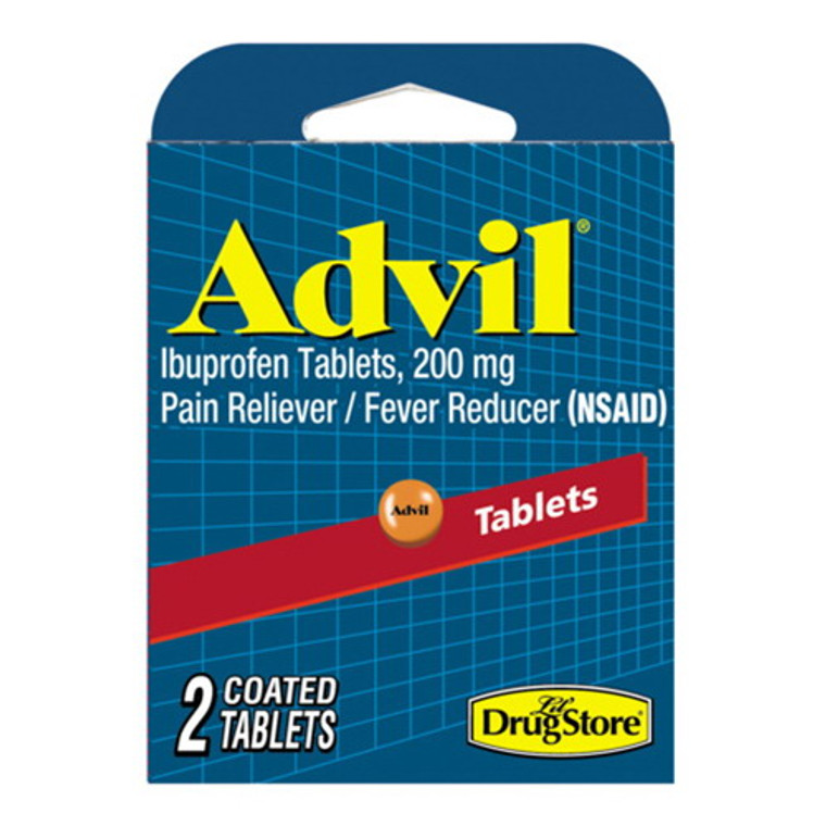 Advil Pain Reliever And Fever Reducer By Lil Drug Store - 2 Ea, 6 Pack