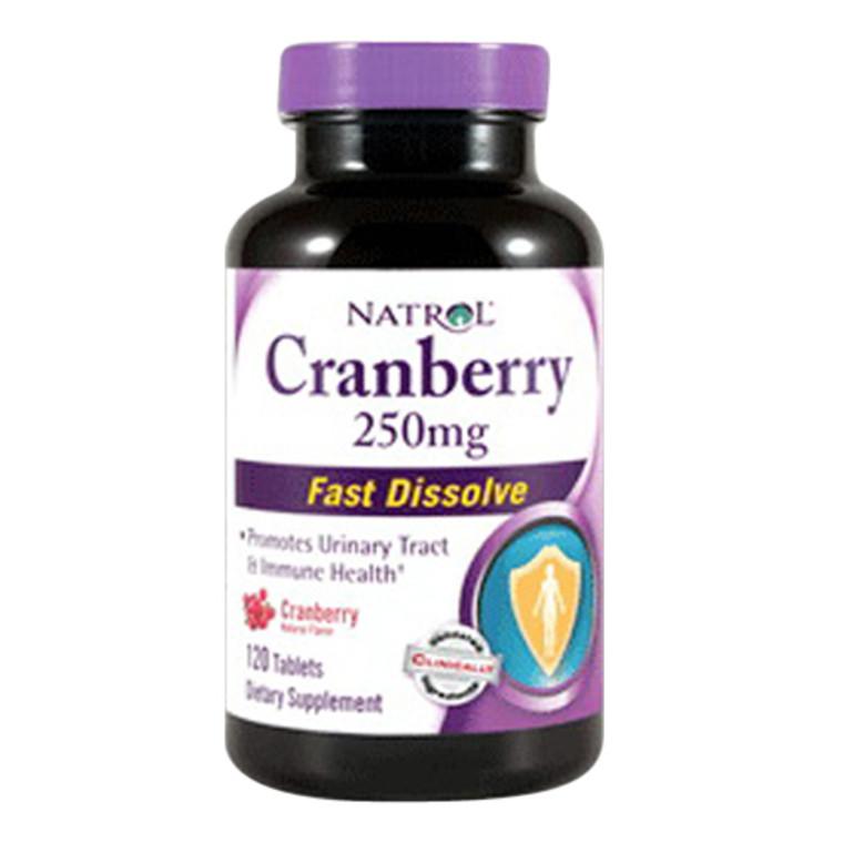 Natrol Cranberry 250 Mg Fast Dissolve Tablets - 120 Ea