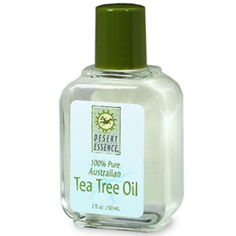 Desert Essence 100% Pure Australian Tea Tree Oil, 2 Oz