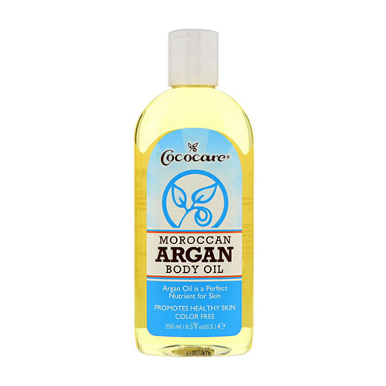Cococare Moroccan Argan Body Oil for Skin and Hair, 8.5 Oz