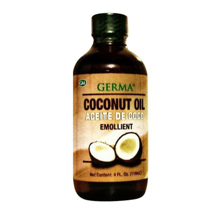 Germa Aceite Coconut Oil For Body and Skin, 4 Oz