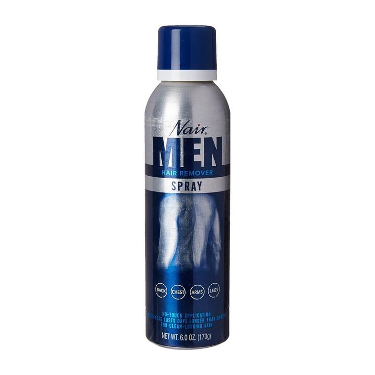Nair Hair Remover Spray For Men - 6 Oz