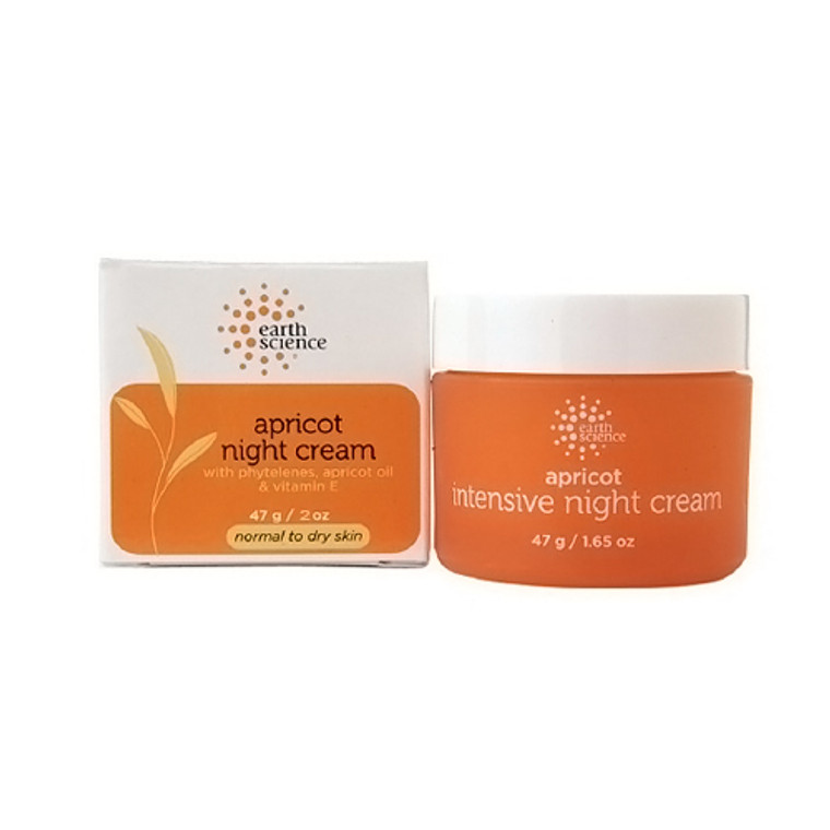 Earth Science Intensive Night Creme, Apricot - 2 Oz