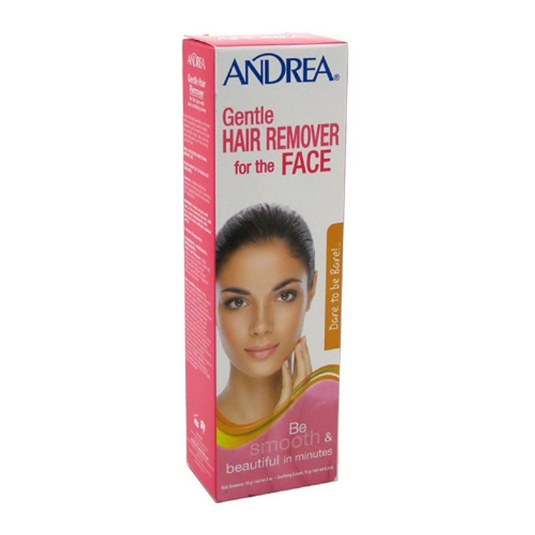 Andrea Hair Remover Gentle For Face, 2 Oz