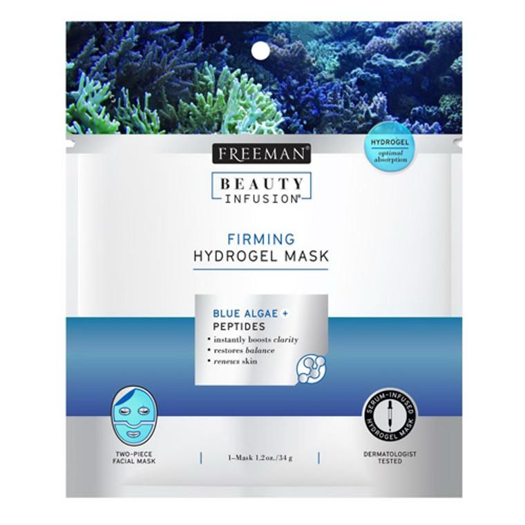 Blue Marine Algae And Peptides Firming Hydrogel Mask By Freeman Beauty Infusion, 0.95 Oz