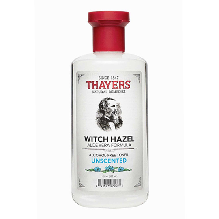 Thayers Unscented Witch Hazel With Aloe Vera Formula Toner - 12 Oz