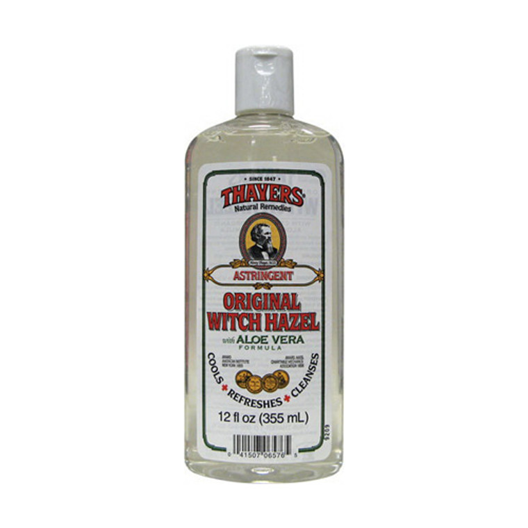 Thayers Original Witch Hazel With Aloe Vera Formula Astringent - 12 Oz
