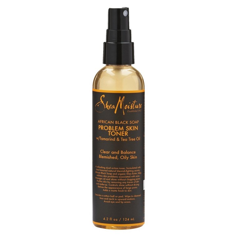 Shea Moisture African Black Soap Problem Skin Toner, 4.2 oz