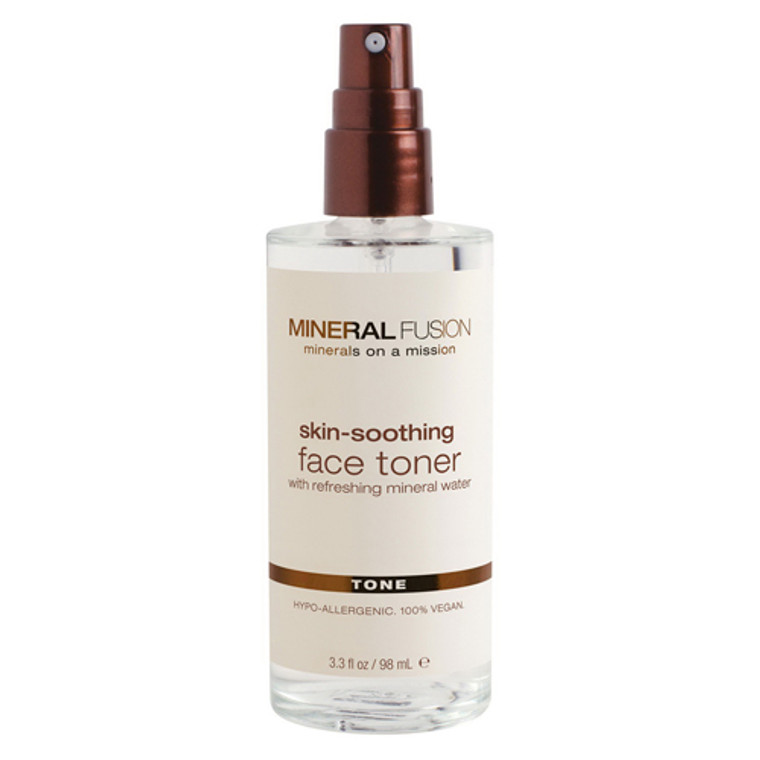 Mineral Fusion Skin Soothing Face Toner, 3.3 Oz