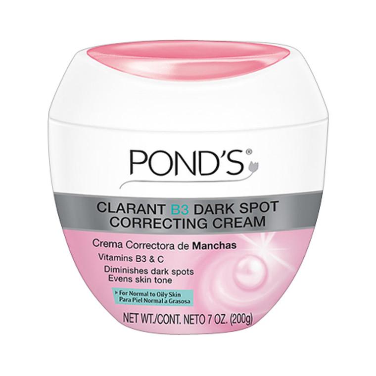 Ponds Clarant B3 Normal To Oily Skin Moisturizer Face Cream For Anti-Dark Spots - 7 Oz