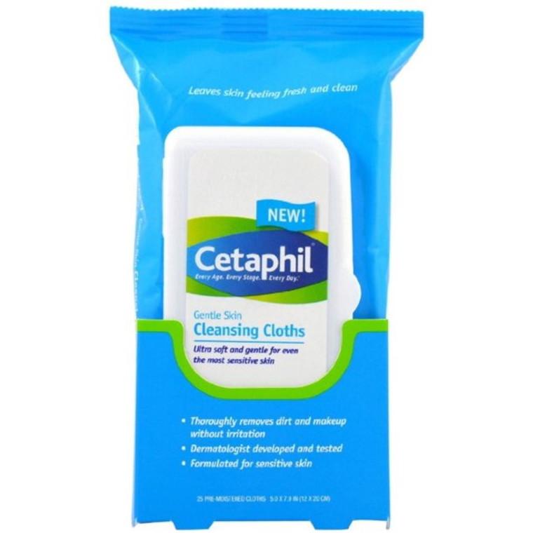 Cetaphil Gentle Skin Cleansing Cloths - 10 Ea
