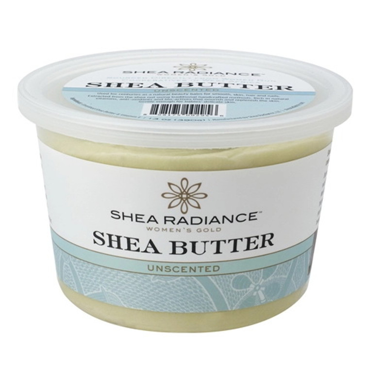 Shea Radiance Pure Shea Butter Unscented, 7.5 Oz