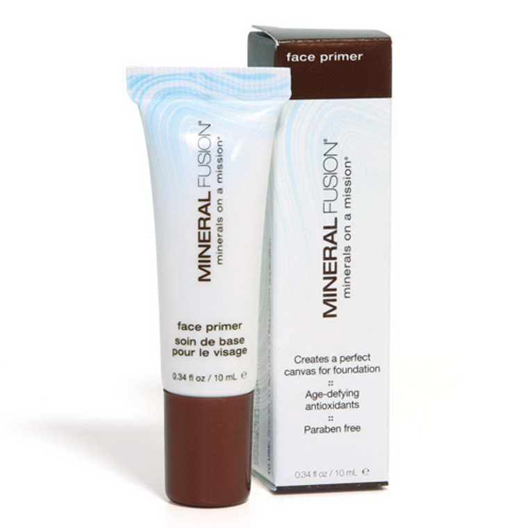 Face Primer With Age Defying Antioxidants By Mineral Fusion, 0.34 Oz