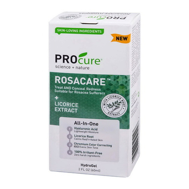 Procure Rosacare Hydro Gel, Licosice Extract, 2 Oz