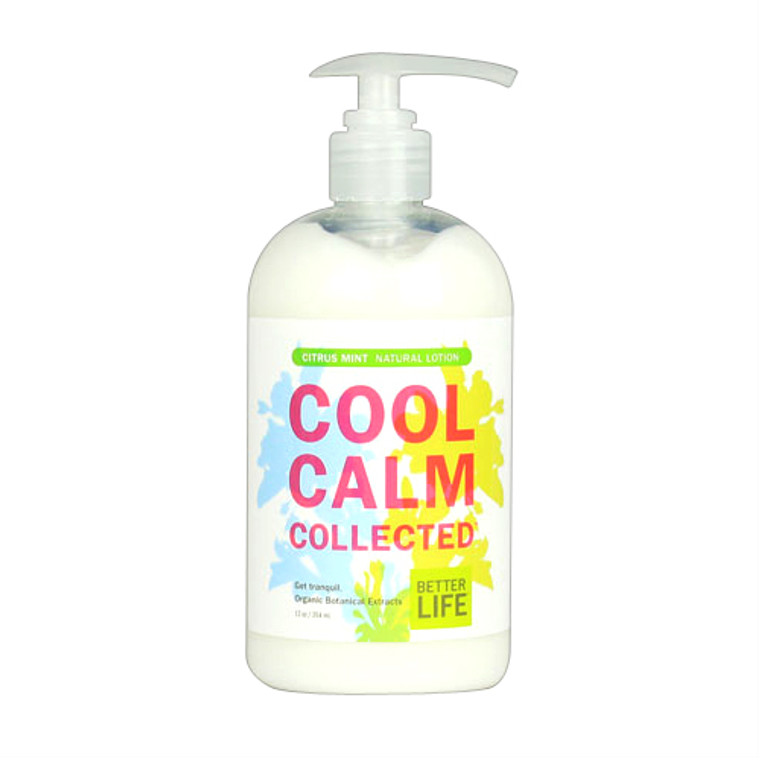 Better Life Cool Calm Collected Natural Hand And Body Lotion, Citrus Mint - 12 Oz