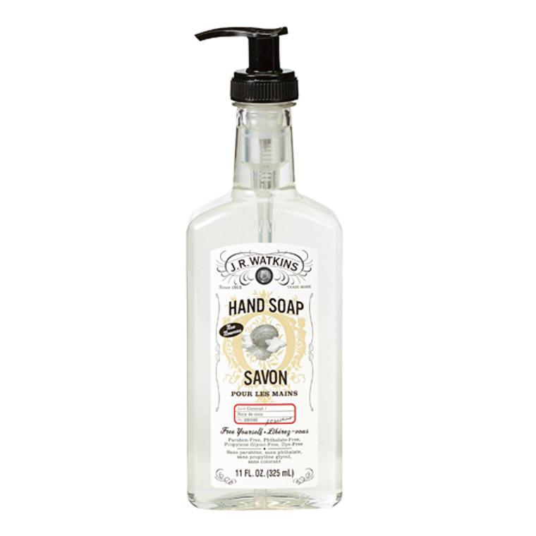 J.R. Watkins Liquid Hand Soap Savon Coconut Scent, 11 oz