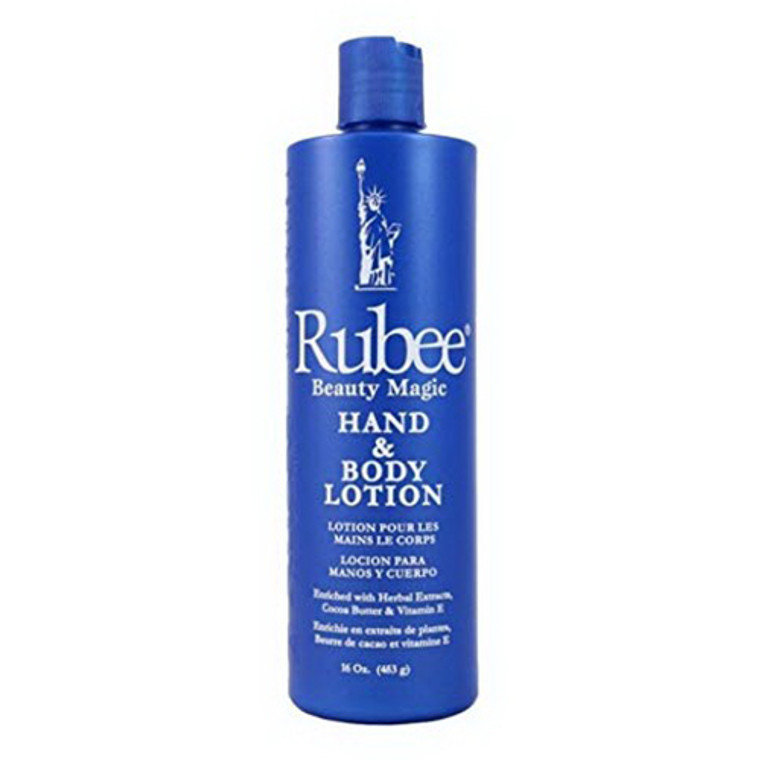 Rubee Beauty Magic  Hand and Body Lotion, 16 Oz