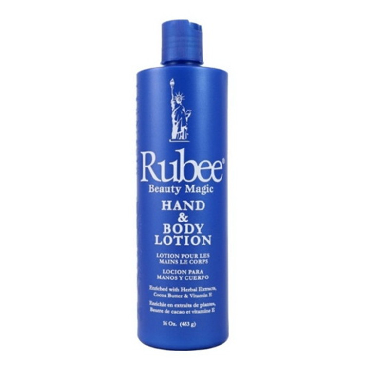 Rubee Hand and Body Lotion, 16 Oz