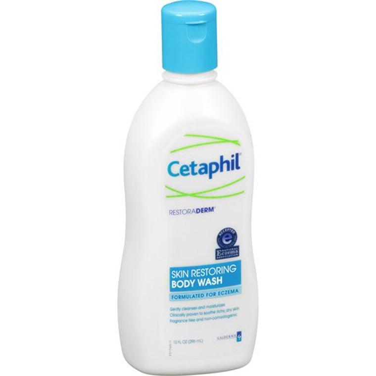 Cetaphil Restoraderm Eczema Skin Restoring Body Wash, 10 Oz