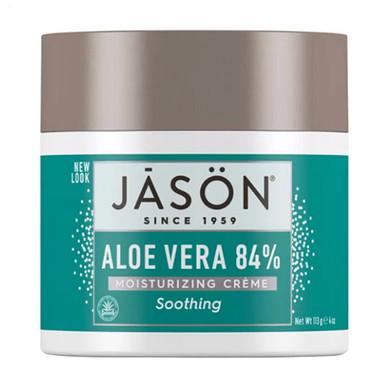 Jason Natural 84% Aloe Vera Moisturizing Cream, 4 Oz ...
