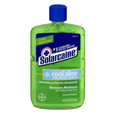 Solarcaine Cool Aloe Burn Relief Formula, Pain Relieving ...