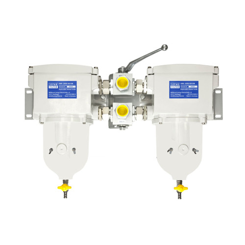 2000/40UMK - Duplex 634 GPH Fuel Water Separator
