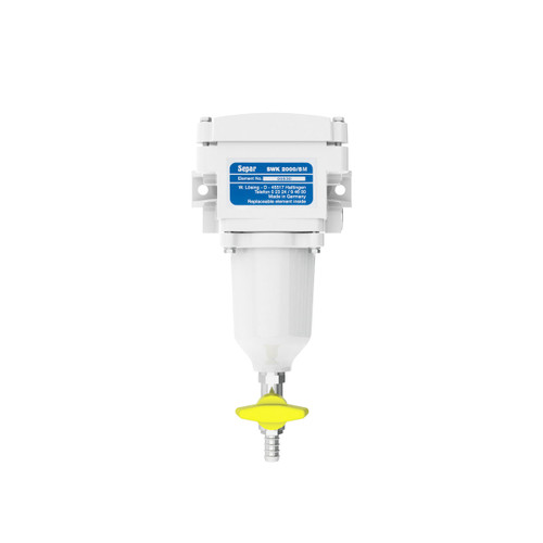 Single 79 GPH Fuel Water Separator with Metal Bowl - 49-2501