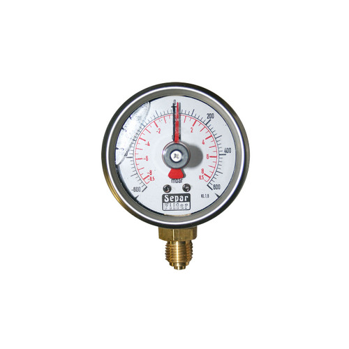 Compound Vacuum Gauge, European Version