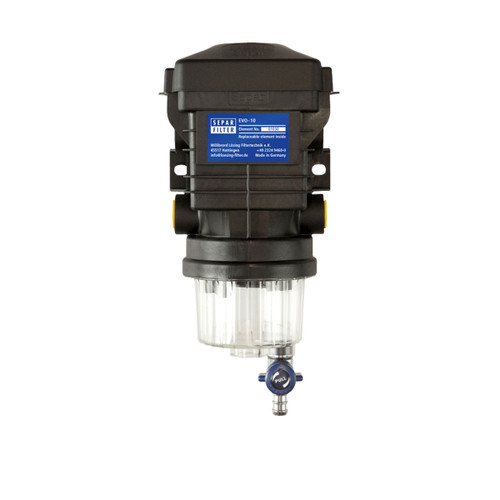 158gph Fuel Water Separator Plastic