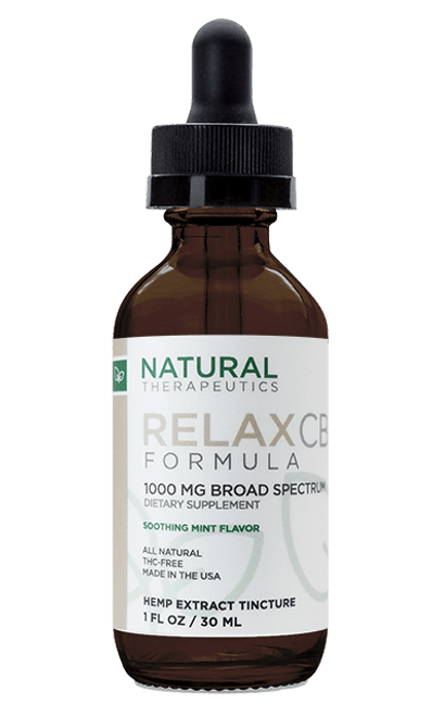Natural Therapeutic 1000MG Broad Spectrum CBD