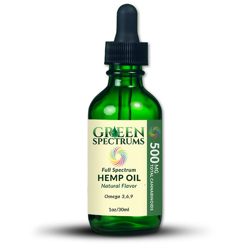 Green Spectrums uses premium quality CO2 extracted hemp oil which has been third-party lab tested to ensure our customers receive a product that is consistent and held to an extremely high standard. This 500mg CBD tincture is the perfect introduction to CBD oils. We have included pure terpene extraction in the Natural flavor to bring the essence of herbal & fruity flower notes to the forefront
