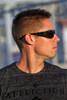 Black OutLaw Eyewear Fugitive Aluminum Motorcycle Eyewear- Polarized shatter resistant lenses
