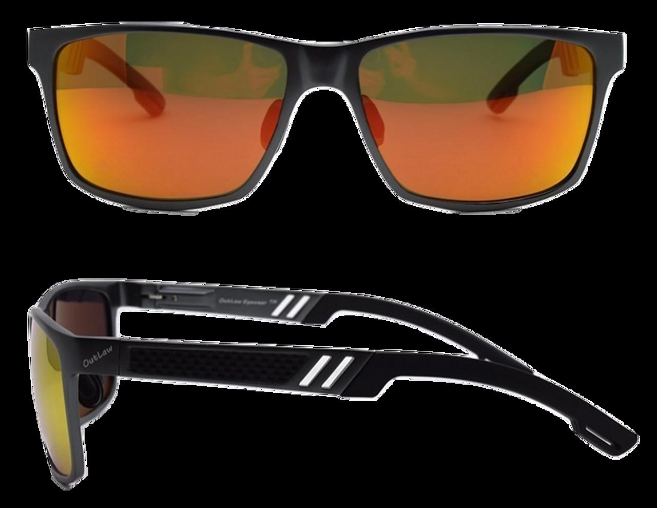 fccb6e8801 Wayfarer Mg Black Sunglass frame with Sunburst Polarized lenses ...