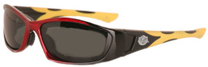 Intruder 3 Gray Polarized lenses- Motorcycle & Extreme Sports Sunglass