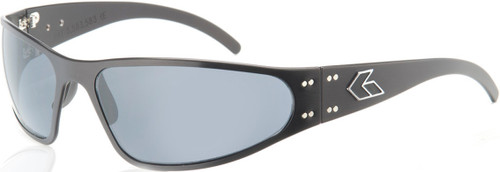 Gatorz Wraptor Black frame with Gray lenses