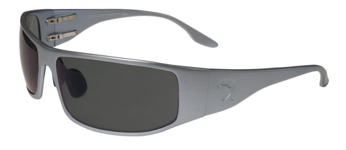 OutLaw Eyewear Fugitive GunMetal frame color with Gray Polarized lenses