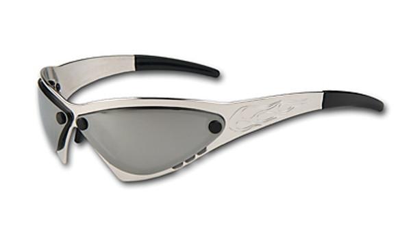 Eliminator Billet Aluminum Sunglasses - Chrome lenses