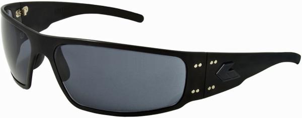 Gatorz Magnum Black Aluminum Military and Motorcycle Sunglass Polarized lenses