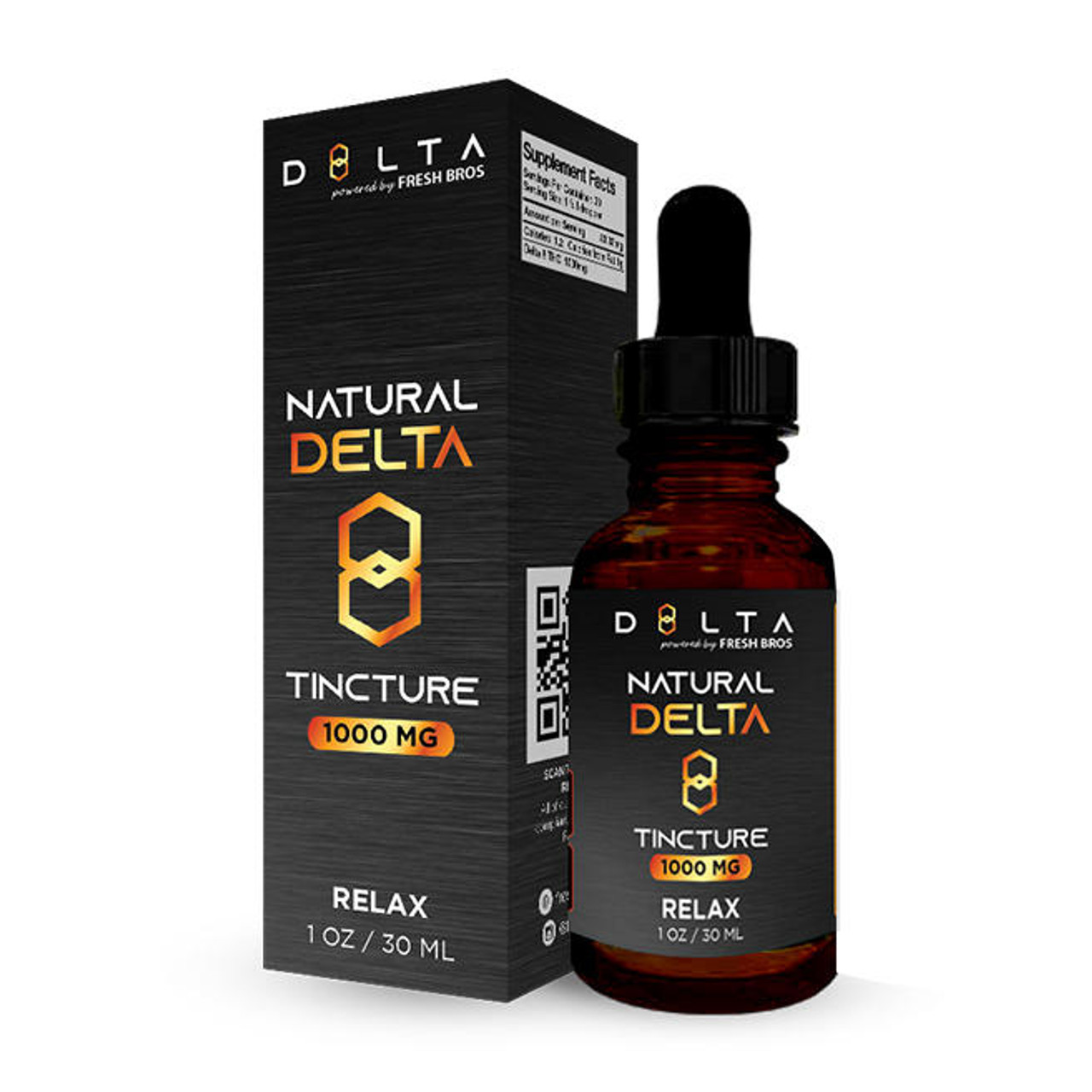 D8LTA Delta 8 Tincture - 1000mg THC Oil Delta 8 Tinctures for Relaxing