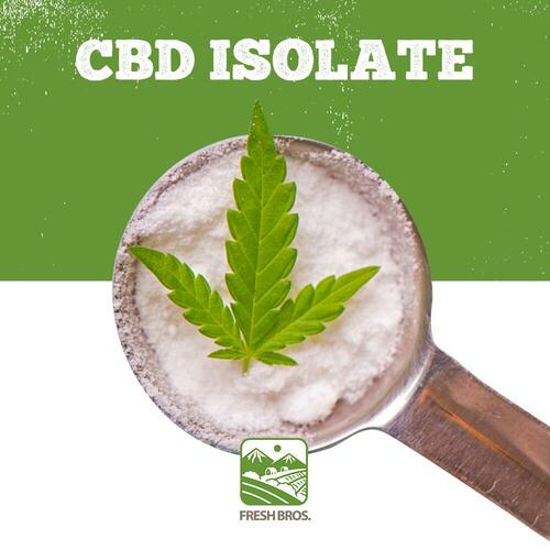 CBD Isolate Wholesale - Made From Hemp Plant