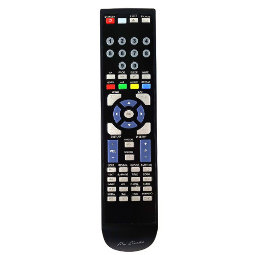 RM-Series TV Replacement Remote Control for PROSCAN PLDEDV3292-UK-B