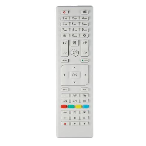Genuine RC4875WHITE TV Remote Control for Specific CONTINENTALEDISON TV Models