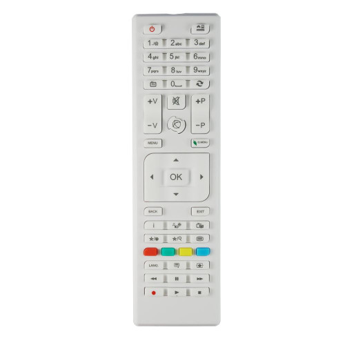 Genuine RC4875WHITE TV Remote Control for Specific Elettra TV Models