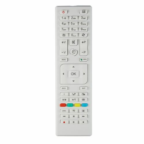 Genuine RC4875WHITE TV Remote Control for Specific Schaub Lorenz TV Models