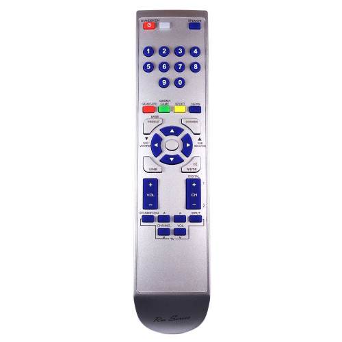 RM-Series Soundbar Replacement Remote Control for Sharp HT-SB200
