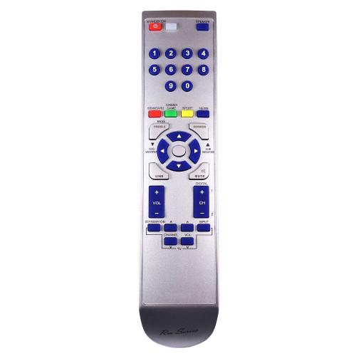 RM-Series Soundbar Replacement Remote Control for Sharp RRMCGA177AW01