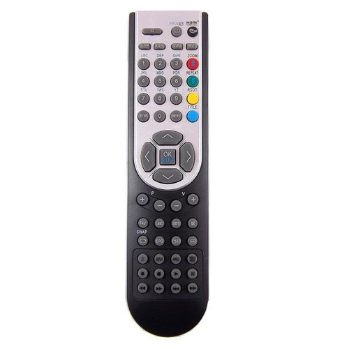 Genuine TV Remote Control for LEIKER ZEUS22LEDBK