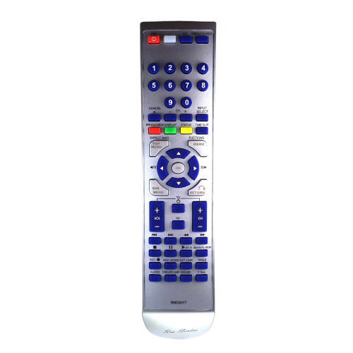 RM-Series DVD Recorder Replacement Remote Control for Panasonic DMR-ES10EBL-S