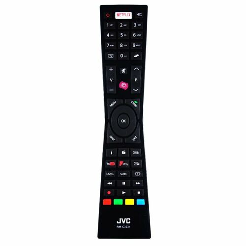 Genuine JVC  LT-49C760 TV Remote Control